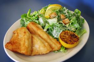 Kris' Fish & Chips, Caesar Salad