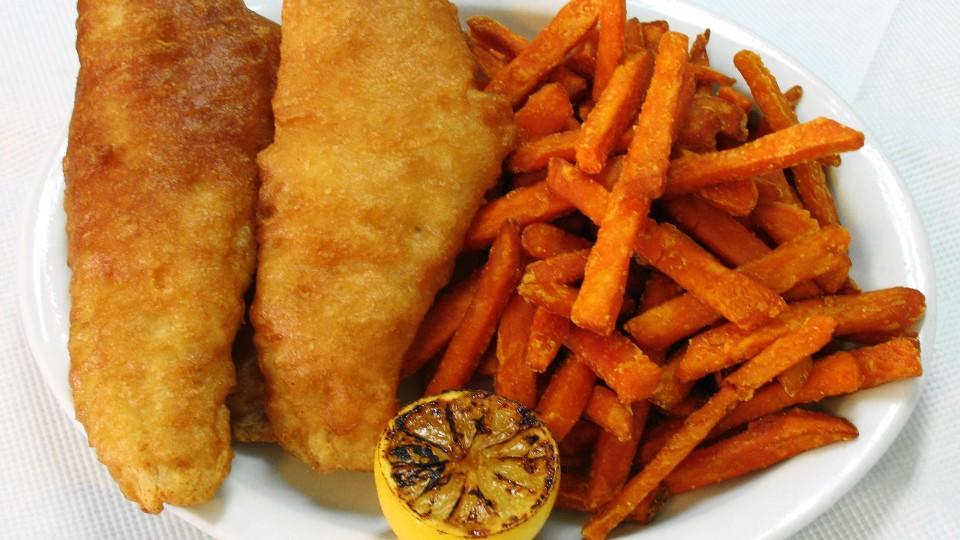 Kris' Fish & Chips, Yam Fries